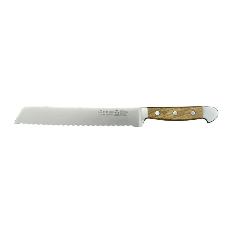 Güde Alpha Olive bread knife 21 cm, knife bread.