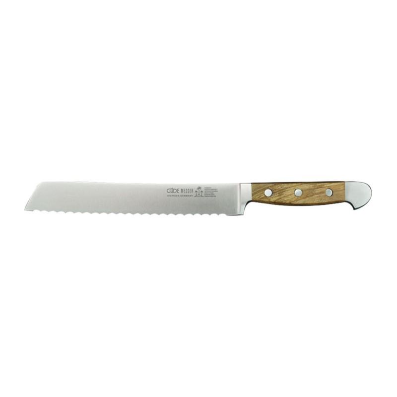 Güde Alpha Olive, Brotmesser 21 cm