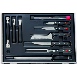 Dick Plaza with 15 pieces, Chef case, Chef knife case