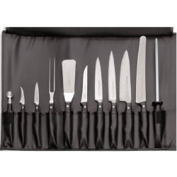 Dick roll-up chef bag with 11 tools, Chef knife case