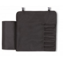 Dick roll-up chef bag with 6 slots (empty), Chef knife case