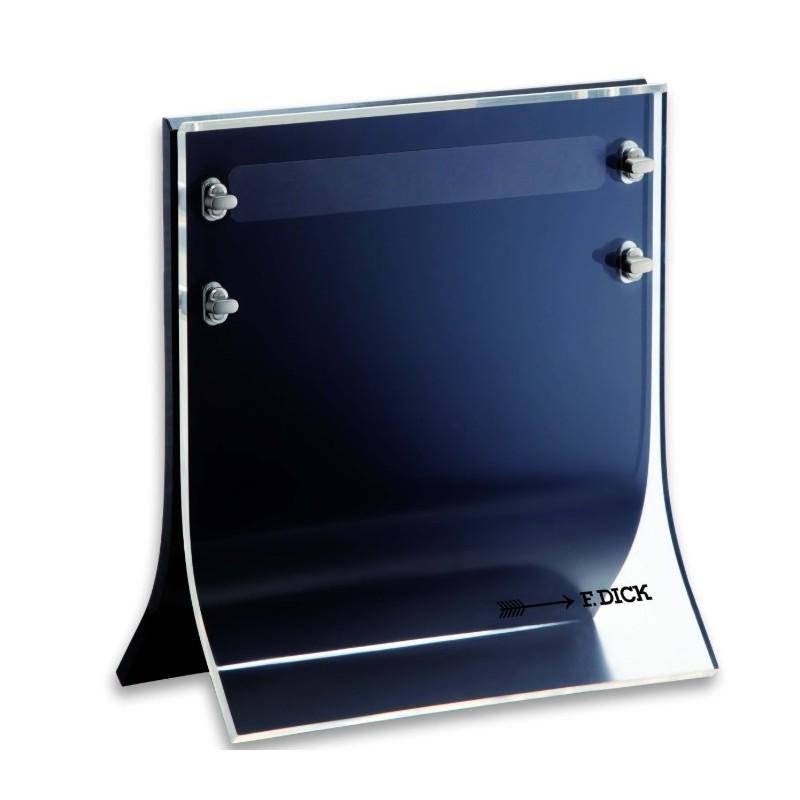 Schaufenstermesserblock mit Magneten, Marke Dick, leerer Block