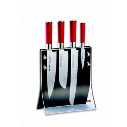 Ceppo coltelli vetrina con magneti Dick, ceppo vuoto