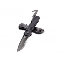 Coltello da sopravvivenza Benchmade Triage Drop 917 black, tactical knives