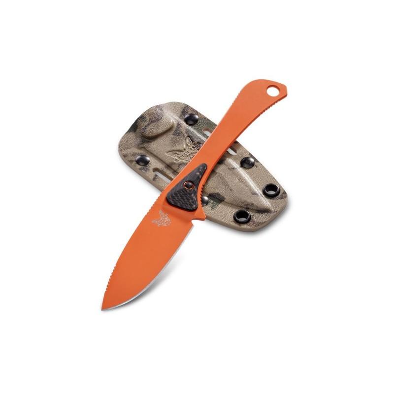 Coltello da caccia Benchmade Altitude 15200 Orange, survival knives