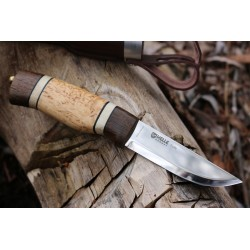 Coltello Helle da caccia Trofè 85, made in Norway. (hunter knife)