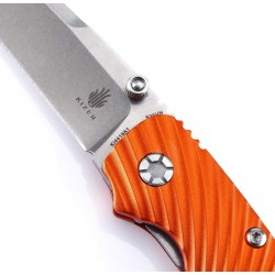 Kizer Silver Orange, Tactical knives. Designer kizer. (kizer Knives).