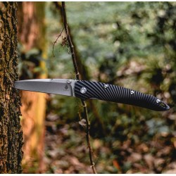 Kizer Silver Black, Tactical knives. Designer kizer. (kizer Knives).