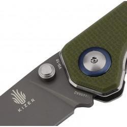 Kizer Begleiter grün, Taktische Messer. Designer Kizer. (Kizer Messer).