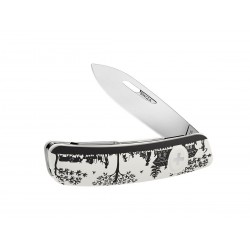 Swiza D01 Heidiland White, multitool knife, Swiss army knife with 6 functions, multicolor, Made in Swiss.