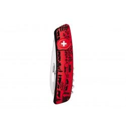 Coltellino multiuso Swiza D03 Heidiland Red, Coltellino svizzero 11 funzioni