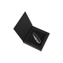 Coltellino multiuso Swiza D03 Lux Leather Black, Coltellino svizzero.