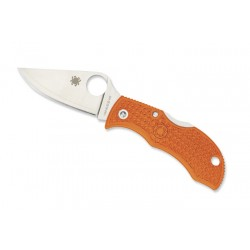 Spyderco Manbug orange, Survival knife, outdoor survival knives.