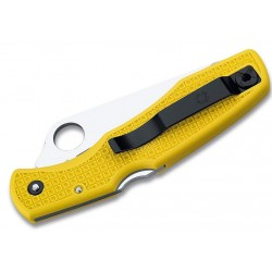 Spyderco Pacific Salt Yellow C91PYL, Diving knife, Serrated blade, Folding diving knives, diving knife.