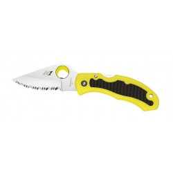Coltello da sub Spyderco Snap-it Salt Yellow PLN C26PYL, (Marine knives).