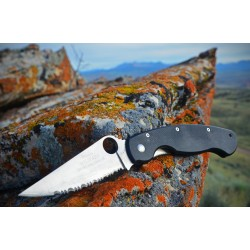 Spyderco Military tactical knife C36GPE, Military folding knives.