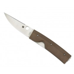 Spyderco tactical knife, Nilakka C164GPBN, folding military knife.