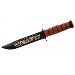 Coltello Ka Bar USMC OEF Afganistan, (military knife / tactical knives).