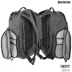 Maxpedition Entity 21 CCW- Enabled Laptop Backpack 21L color charcoal (charcoal).