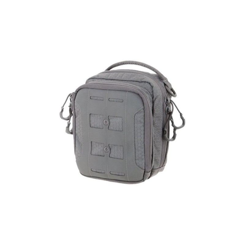 Maxpedition military bag AUP Accordion Utility Pouch Gray, Maxpedition accordion bag.