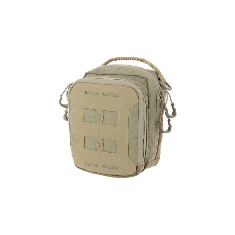 Maxpedition military bag AUP Accordion Utility Pouch Tan, Maxpedition accordion bag.