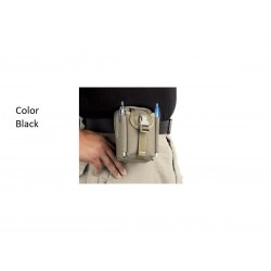 Maxpedition M-2 Waistpack Black military bag.