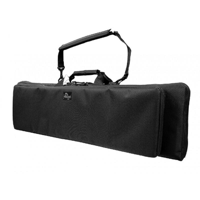 """Militärtasche für Maxpedition Silver II 38 """"Gewehre, Tasche für Gewehre, Gun Case Farbe Schwarz."""