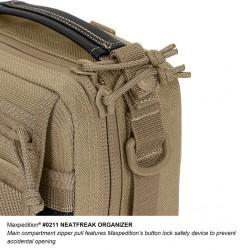 Maxpedition Neatfreak Organizer taktische Tasche, Maxpedition Schultergurt Farbe Khaki.