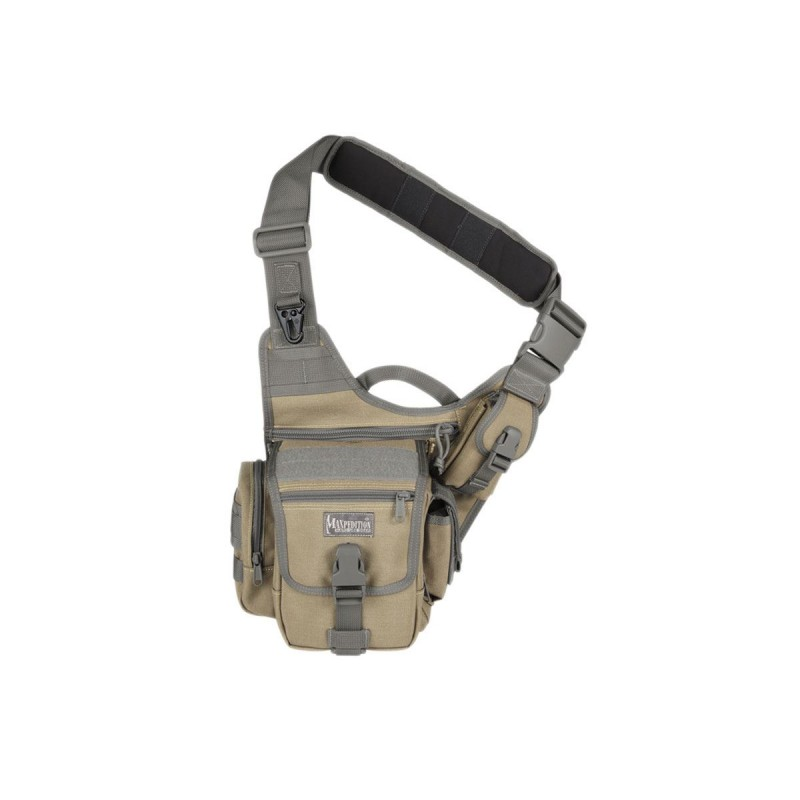 Maxpedition Fatboy Versipack Khaki military bag, Maxpedition shoulder bag.
