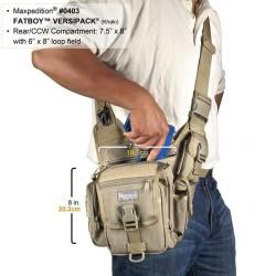 Maxpedition Militärtasche, Fatboy Versipack Khaki Farbe.