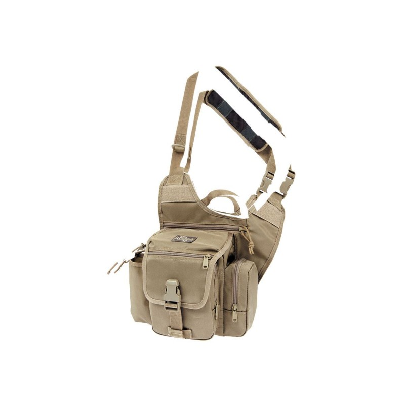 Maxpedition Militärtasche, Fatboy G.T.G. Versipack Khaki Farbe.
