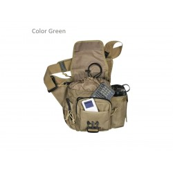 Maxpedition Jumbo military bag Versipack Green, Tactical bag made in U.s.a.