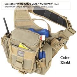 Maxpedition Jumbo military bag Versipack Khaki, Tactical bag made in U.s.a.