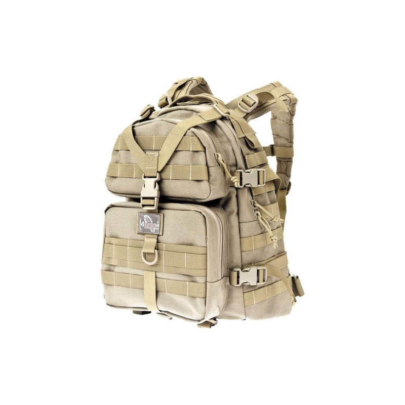 Maxpedition Military Backpack Condor II Backpack Khaki, Military Tactical Backpack made in U.s.a.