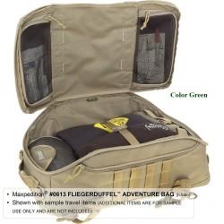 Maxpedition Militärrucksack, Fliegerduffel Adventure Bag Green, Military Tactical Bag hergestellt in den USA.