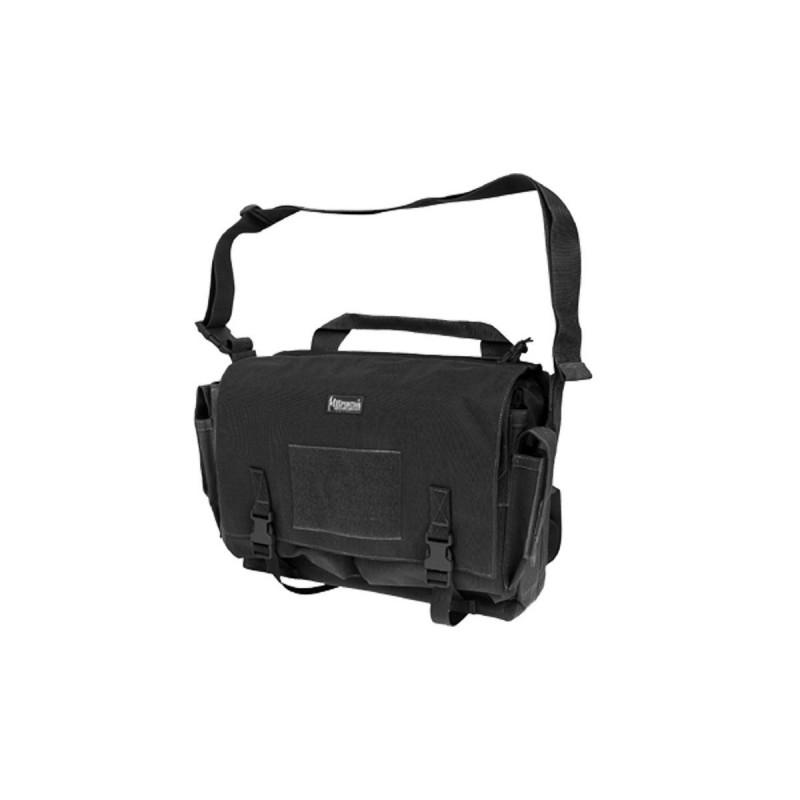 Maxpedition-Militärtasche, Rittersporn-Umhängetasche schwarz, Militär-Taktiktasche aus den USA.