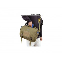 Maxpedition Military bag Larkspur Messenger bag Black, Military Tactical bag made in U.s.a.