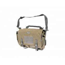 Maxpedition Military Bag, Rittersporn-Umhängetasche Khaki, Military Tactical Bag, hergestellt in den USA.