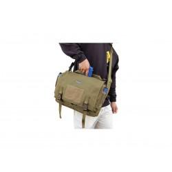 Maxpedition Military Bag, Rittersporn-Umhängetasche Khaki, Military Tactical Bag, hergestellt in den USA.