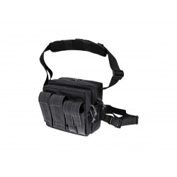 Borsello militare Maxpedition Active Shooter Bag Black.