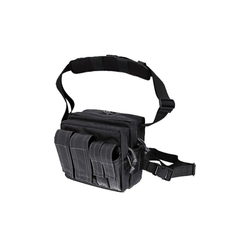Maxpedition Military Bag, Active Shooter Bag Black, Military Tactical Bag made in U.s.a.