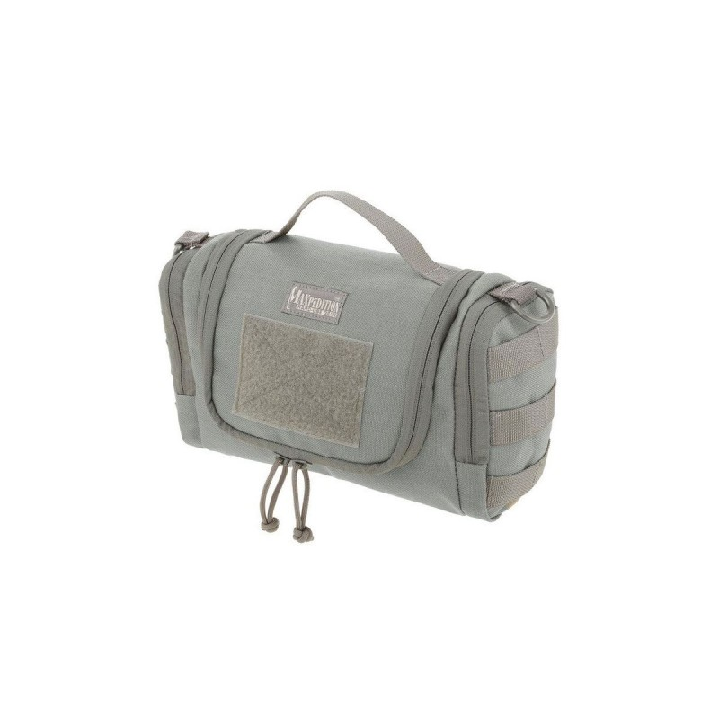 Borsello militare Maxpedition Aftermath toiletries bag green.