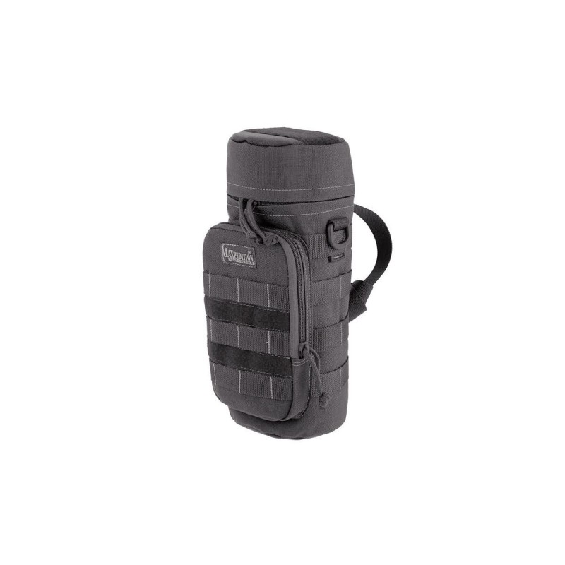 "Borsello militare Bottle holder 10""x4"" black, Borsello Tattico militare made in U.s.a."