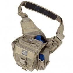 Military bag Maxpedition Jumbo L.E.O. Khaki, Military Tactical bag made in U.s.a.