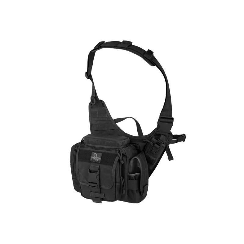 Military bag Maxpedition Jumbo L.E.O. black, Military Tactical bag made in U.s.a.