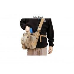 Maxpedition Militärtasche, Jumbo L.E.O. schwarze, militärische taktische Tasche, hergestellt in den USA.