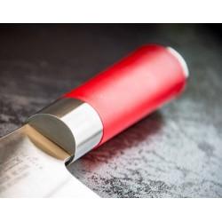 Dick red spirit, chinesisches Messer zum Schneiden von 18 cm.