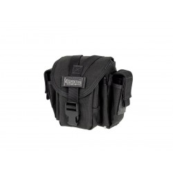 Maxpedition Military Bag, M-4 Waistpack schwarz, Military Tactical Bag hergestellt in den USA.