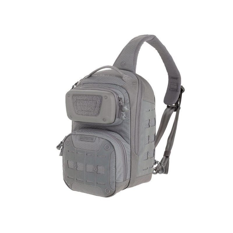 Maxpedition Edgepeak ™ Military Backpack Ambidextrous Sling Pack 15L Gray, Military Tactical Backpack made in U.s.a.