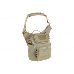 Maxpedition Militärtasche, Wolfspur Umhängetasche Color Tan, Military Tactical Tasche hergestellt in den USA.